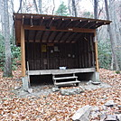 0732 2016.11.25 Watagua Lake Shelter by Attila in North Carolina & Tennessee Shelters