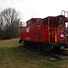 0767 2016.12.23 Damascus VA Townpark Red Caboose