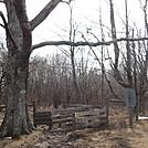 0801 2017.02.18 Northern Boundary Of Wilson Creek Wilderness by Attila in Trail & Blazes in Virginia & West Virginia