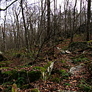 0919 2018.11.08 Rocky Trail North Of Bailey Gap Shelter