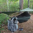0929 2020.05.31 Hammock Setup On Campsite At War Spur Shelter