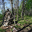 0956 2020.06.02 Rock Piles South Of Server Hollow Shelter by Attila in Views in Virginia & West Virginia