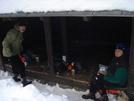 Rattle River Shelter Jan 09 Chatter And Turtle (rick Evans - Non Whiteblaze Member)