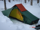 Hilleberg Akto Near Rattle River Shelter Nh, 2/09 by Tinker in Tent camping