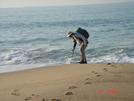Beginning Of Ri's North-south Trail - Blue Shutters Beach Atlantic Ocean