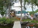 Lake Shore House From Dock Sept. 2008