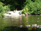 West Branch Pleasant River Low Water Ford 9/08 by Tinker in Views in Maine