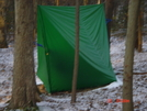 10x12 Equinox Winter Tarp/hammock Setup