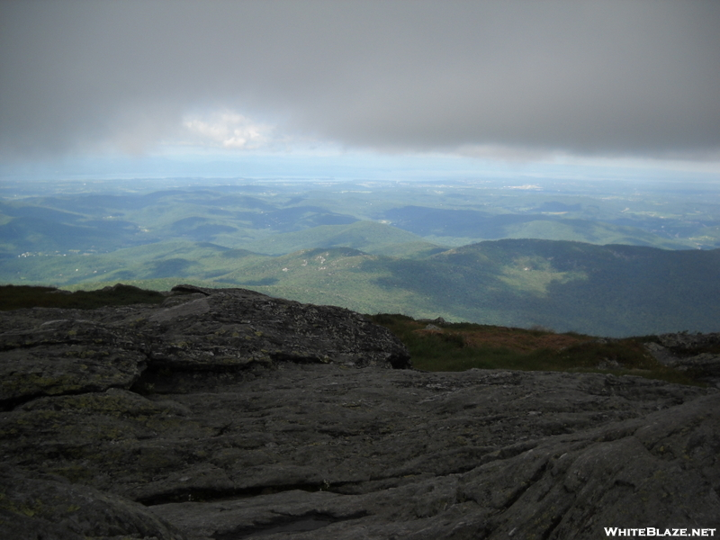Clouds Lifting For View South From Camel's Hump