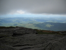 Clouds Lifting For View South From Camel's Hump by Tinker in Long Trail