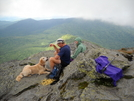 Fellow Hikers Enjoying View From Camel's Hump