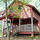 Upper Goose Pond cabin by Tinker in Massachusetts Shelters