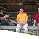 Chillin' at a shelter in Pa. by Tinker in Section Hikers