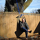 Hammock chair with standard hammock parts by Tinker in Hammock camping