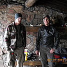 Jay Loden and 556 MP, Brien Shelter Feb. 2012 by Tinker in Day Hikers