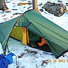 Hilleberg Akto at Brien Shelter, NY by Tinker in Tent camping
