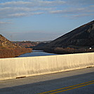 Lehigh River towards Palmerton by Tinker in Trail & Blazes in Maryland & Pennsylvania