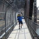 Mariano crosses the Patomac by Tinker in Views in Virginia & West Virginia