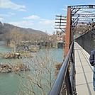 Footbridge over Patomac by Tinker in Views in Virginia & West Virginia