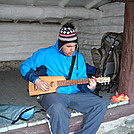 Mariano plays my Go-Guitar by Tinker in Day Hikers