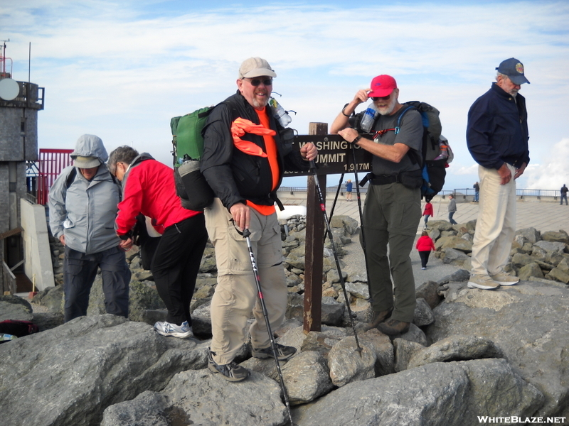 Tinker And Chatter On Mt. Washington, 2009