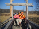 My Son, David, Sharon (section Hiker) And Me On Boardwalk In Nj