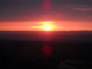 Sunset From Catfish Fire Tower, Nj by Tinker in Views in New Jersey & New York