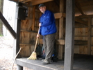 Chenango Makes A Clean Sweep At Hemlock Shelter, Ma. Apr. 2010 by Tinker in Section Hikers