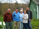 Chenango, River1, 2 Section Hikers From Ga. And Nc At Maria's, Salisbury, Ma. Apr. 2010. She Has A C by Tinker in Trail Angels and Providers
