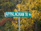 Appalachian Trail Rd. Pa. by Tinker in Sign Gallery