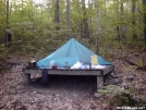 Sherman Brook Tent Platform by Cosmo in Massachusetts Shelters
