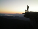 Sunrise On Mcafee Knob by Snags09 in Thru - Hikers