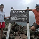 Finally @ the top - July '11 by long2bhiking in Katahdin Gallery