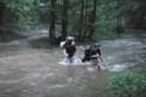 Crossing Rising Creek At Big South Fork by Freedom Walker in Other Trails