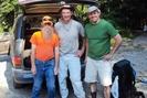 James And Chris With Dartman
