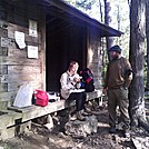 Tulip and Crank at Wawayanda shelter (NJ) by BigHodag in Section Hikers