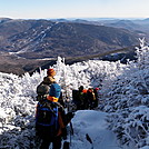 Lion's Head trail - Mount Washington December 2011
