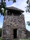Wayah Bald tower by bigcranky in Trail & Blazes in North Carolina & Tennessee