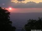 Sunset over Shenandoah Valley