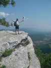 Big Cranky At Mcafee Knob by bigcranky in Section Hikers
