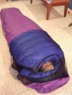 Homemade bivy sack