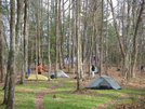 Camping At Abingdon Gap by bigcranky in North Carolina & Tennessee Shelters
