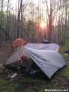 sunrise in the Rainshadow by bigcranky in Tent camping