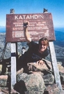 Katahdin Celebration by Mr. Cotton in Thru - Hikers