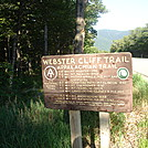 Webster Cliffs- NB AT in New Hampshire