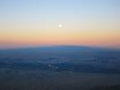 Sandia Mountains Shadow W/full Moon At Dawn by Llama Legs in Members gallery