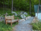 A beautiful trail and bench at Blackburn by StarLyte in Trail & Blazes in Virginia & West Virginia