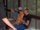 Thru hikers at Blackburn Trail Center by StarLyte in Virginia & West Virginia Trail Towns