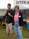 Marta and son by StarLyte in 2006 Trail Days