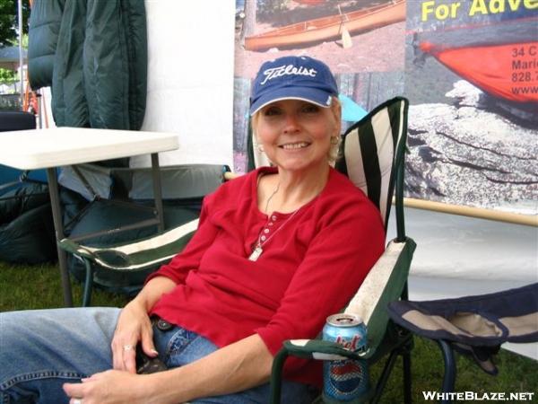 "Marsha ""StarLyte"" at Trail Days 2006"